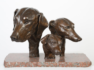 Hound, Greyhound and Terrier Heads image 2