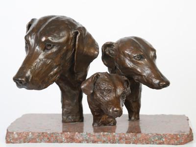 Hound, Greyhound and Terrier Heads image 1