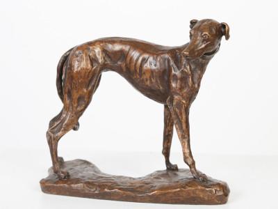 Standing Greyhound image 1