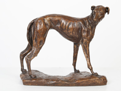 Standing Greyhound image 2